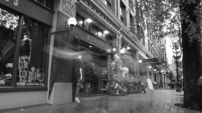 Ghosts Outside Old Spaghetti Factory